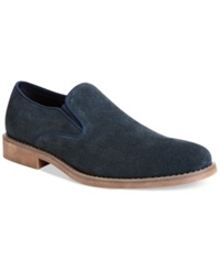 Calvin Klein Jeans Odell Suede Slip On Shoes Men's Shoes Midnight