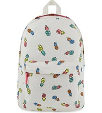 Stella Mccartney Pineapple Canvas Backpack Pineapple Coconut Base
