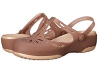 Crocs Carlie Cutout Clog Bronze Gold Women's Clog Shoes