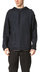 3.1 Phillip Lim Woven Poncho Navy
