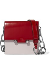 Marni Box Patent Leather Shoulder Bag Red Gbp