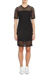 1.State Women's Mesh T Shirt Dress