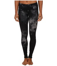 Alo Yoga Airbrushed Legging Black Smoke Print Women's Workout