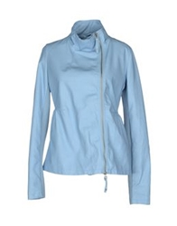 Scee By Twin Set Jackets Sky Blue