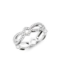 Thomas Sabo Sterling Silver Love Knot Eternity Ring
