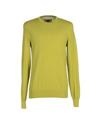 Patrizia Pepe Knitwear Jumpers Men Acid Green