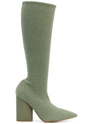 Yeezy Stretch Boots Green