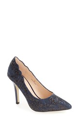 Pink Paradox London Women's 'Alexis' Pointy Toe Pump Navy