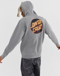 Santa Cruz Other Dot Hoodie In Dark Grey