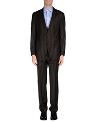 Cantarelli Suits And Jackets Suits Men Dark Brown