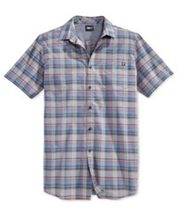 Fox Men's Cloose Woven Short Sleeve Shirt Graphite