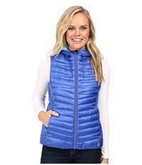 Spyder Timeless Down Vest Bling Freeze Women's Vest Blue