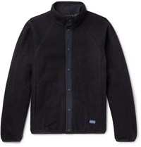A.P.C. Yama Wool Blend Fleece Jacket Black