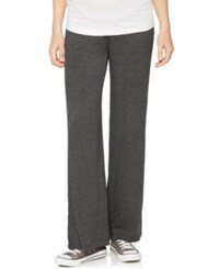 A Pea In The Pod Maternity Foldover Wide Leg Pants