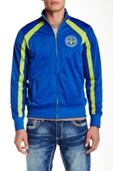 Affliction Fast Paced Zip Jacket Blue