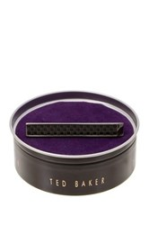 Ted Baker Woven Tie Bar Gray