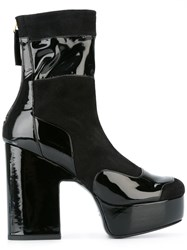 Pierre Hardy 'Ziggy' Boots Black