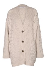 Dorothee Schumacher Powerful Ease Cardigan White