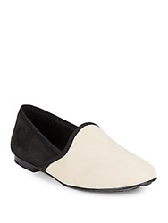 Gentle Souls Edge Y Nubuck Leather Flats Stone