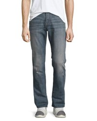 John Varvatos Bowery Slim Straight Jeans Blue
