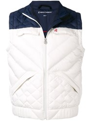Perfect Moment Apres Padded Gilet White