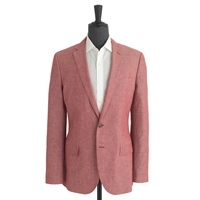 J.Crew Pre Order Ludlow Sportcoat In Japanese Chambray Smoke Red