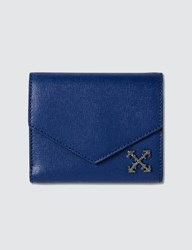Off White Small Diag Wallet Blue