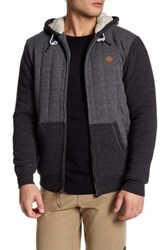 Rip Curl Fleece Hooded Jacket Black