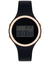 Inc International Concepts Women's Digital Black Silicone Strap Watch 38Mm In017rgbk Only At Macy's