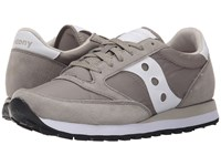 Saucony Jazz Original Light Grey Men's Classic Shoes Gray
