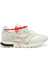 Off White Hg Runner Mesh White