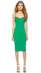 Noam Hanoch Guinevere Slip Dress Kelly Green