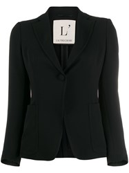 L'autre Chose Slim Fit Blazer Black