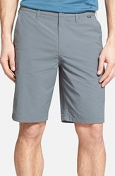 Hurley Men's 'Dry Out' Dri Fit Chino Shorts Cool Grey