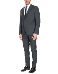 Lubiam Suits Steel Grey