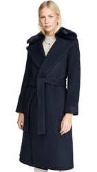 Club Monaco Baylee Coat Navy