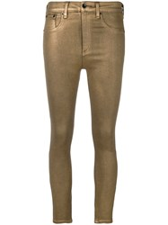 Rag And Bone Skinny Trousers Brown