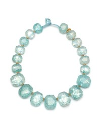 Lola Rose Elemental Chunky Necklace Ocean Blue Blue