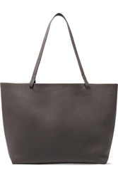 The Row Park Textured Leather Tote Anthracite