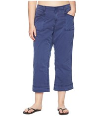 Aventura Clothing Plus Size Arden V2 Slimmer Blue Indigo Casual Pants