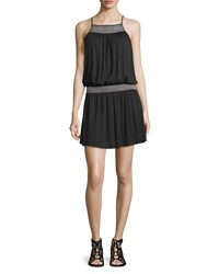 Soft Joie Dhara Sleeveless Dress With Smocked Detail Women's Caviar