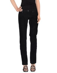 Limi Feu Denim Denim Trousers Women Black