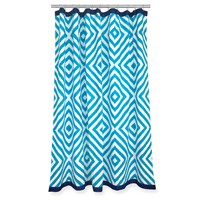 Jonathan Adler Arcade Shower Curtain Blue