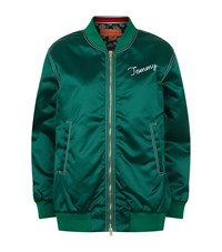 Tommy Hilfiger Oversized Free Spirit Bomber Jacket Female Green