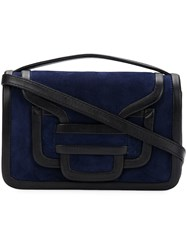 Pierre Hardy Alpha Clutch Bag Blue