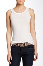 Inhabit Merino Wool Tank White