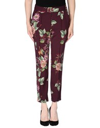Darling Trousers Casual Trousers Women Purple