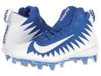 Nike Alpha Menace Pro Mid Game Royal White White Men's Cleated Shoes Blue
