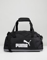 Puma Phase Sport Bag In Black 07494201