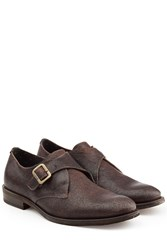 Fiorentini Baker And Leather Monk Strap Shoes